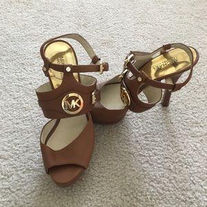 Michael Kors Leather heeled sandals